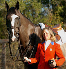 Vita Flex Victory Team rider Patty Stovel with her horse Carigor Z