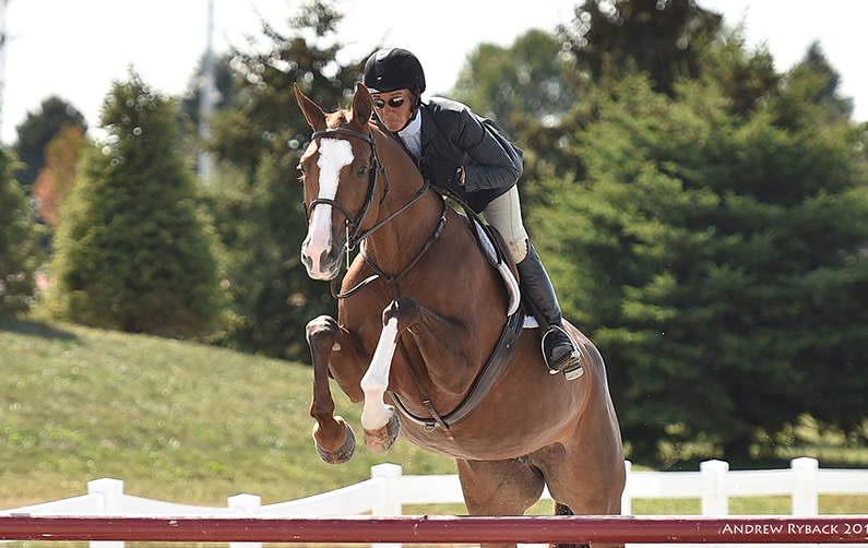 Vita Flex Victory Team Rider Patty Stovel and Horse